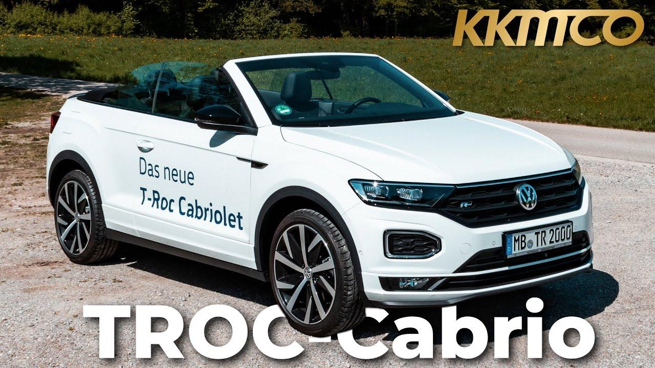 VW T-Roc Cabrio R-Line (2020)   Review   Test   Fahrbericht