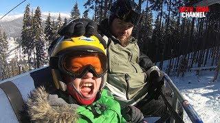 Как Дима съездил катнуть на лыжах / Буковель 2018  Украина / Bukovel Carpathian Mountains Ukraine