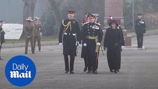 Prince William dons military uniform to represent the Queen