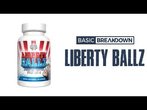 Merica Labz Liberty Ballz Testosterone Booster | Basic Breakdown
