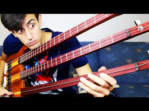 Download Youtube: TRIPLE NECK BASS SOLO