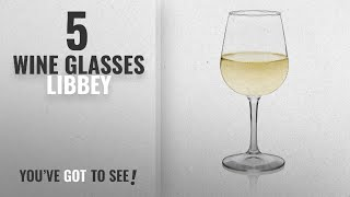 Best Wine Glasses Libbey [2018]: Libbey Wine Party 12-piece Stemware Glass Set