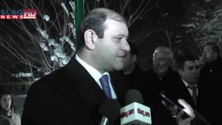 Slaq am «Ձմեռային այգու»  բացումը՝ Երևանում