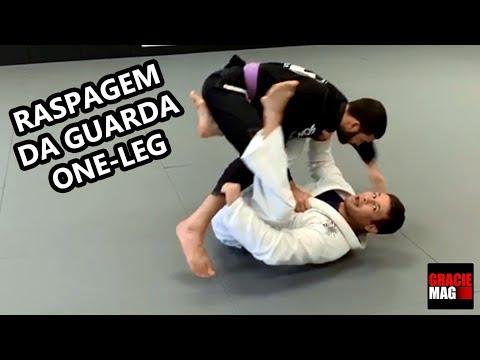 Vinicius Gimenes ensina raspagem da guarda one-leg no Jiu-Jitsu