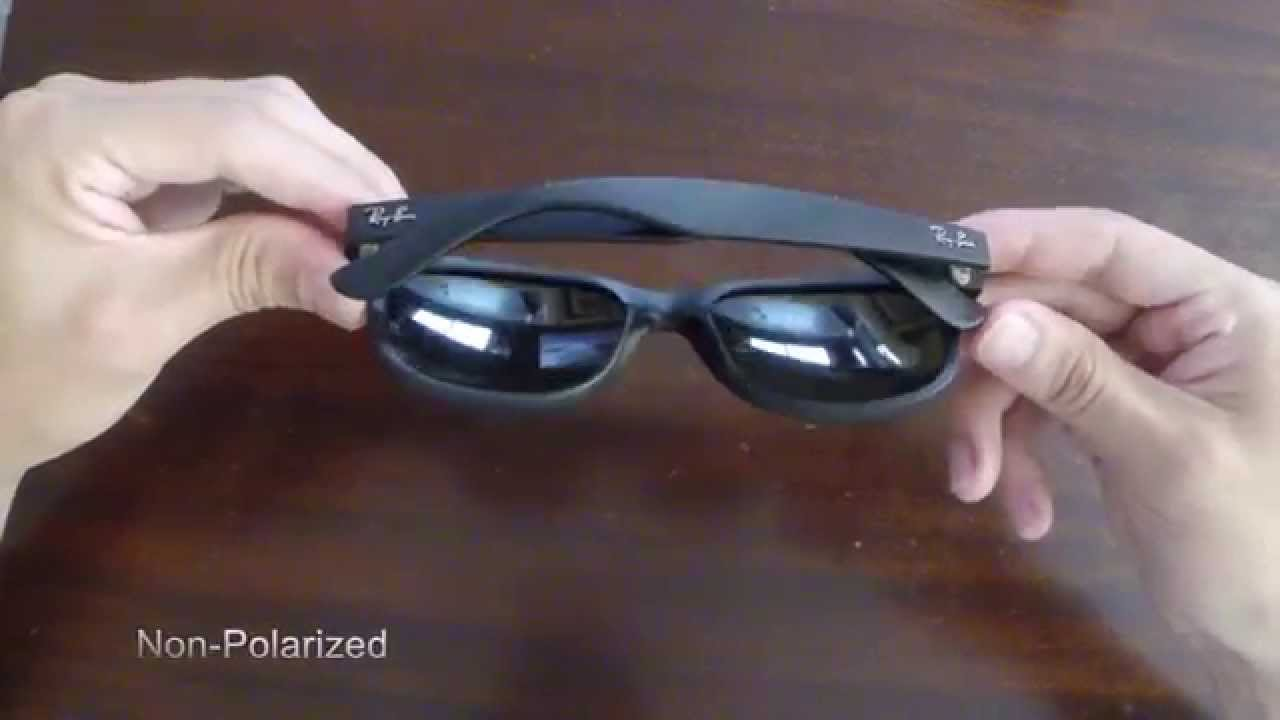 238c9eee7c Ray-Ban RB2132 New Wayfarer 55mm Sunglasses - YouTube