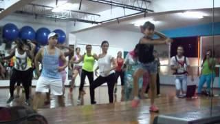 DANZA AEROBICA EFDA - RUMBA FITNESS I - LORENA BERDUGO - 12-07-2014