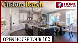 Open House Tour 102 - Custom Ranch Home in Salem Wisconsin