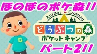 【ポケ森】どうぶつの森ポケットキャンプ!ほのぼのゆっくり実況PART2!!【たこらいす】