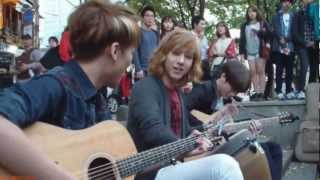 [121014 홍대 버스킹 공연] LUNAFLY - You got that something I need