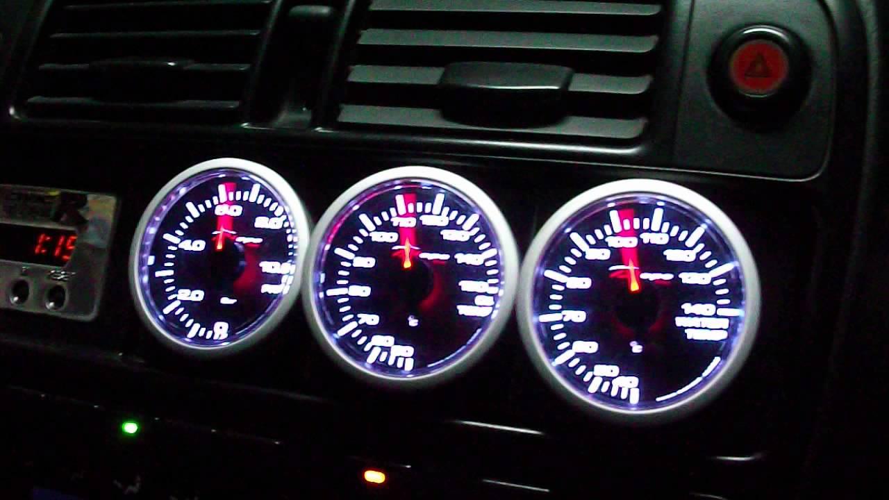 Depo Racing Gauge : Depo racing japan gauges testing st time youtube