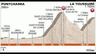 Giro del Delfinato 2011 7a tappa Pontcharra-La Toussuire (117 km)