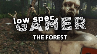 The Forest, FPS Boost on low end PC