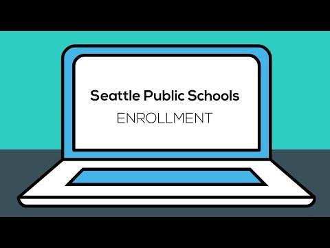 Seattle Public Schools Online Enrollment