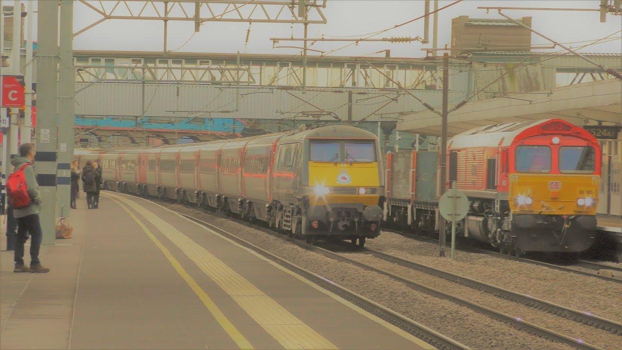 4k Trains At Peterborough 11 1 19