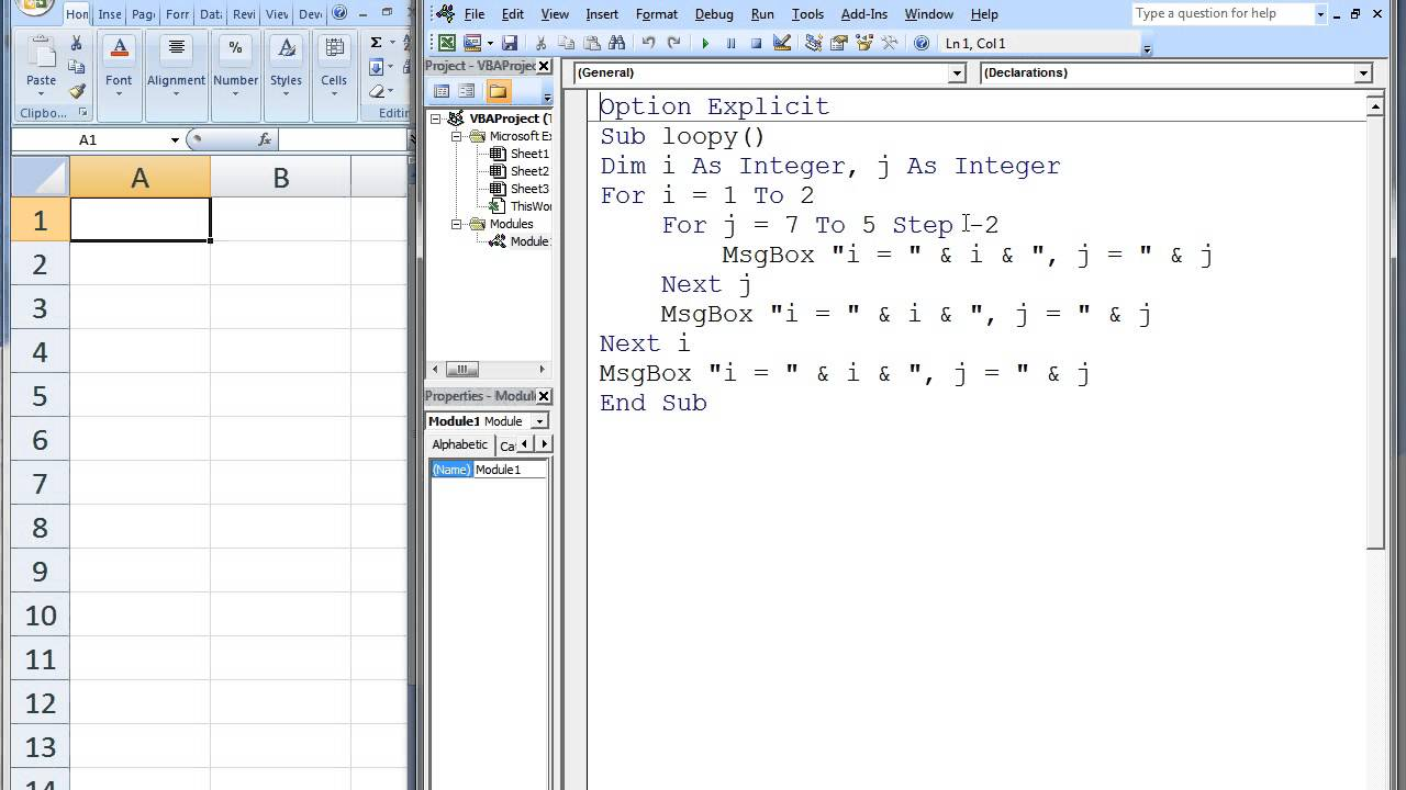 Charming Excel Vba Continue Next Loop Images Example Resume and