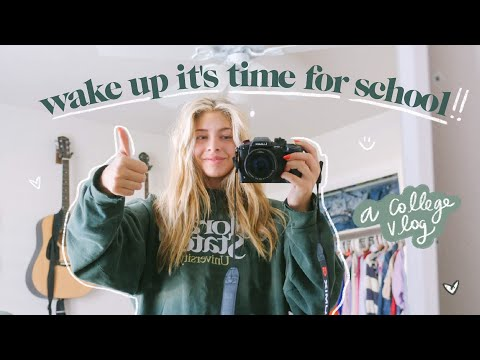 college day in my life (freshman year) *vlog*