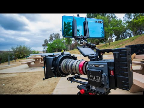 Huawei P20 Pro vs RED Cinema Camera