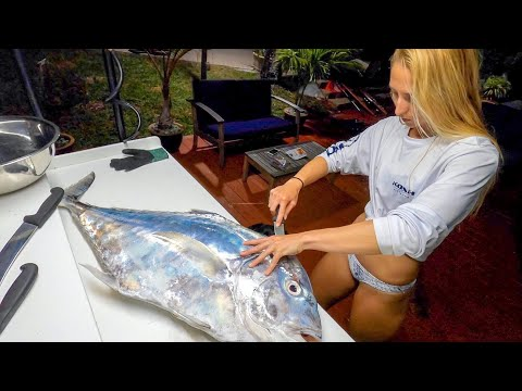 Filleting An AP & Surprise Inside The Stomach!