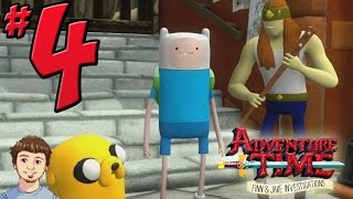 Adventure Time: Finn & Jake Investigations Gameplay Walkthrough - PART 4 - Wizard City!