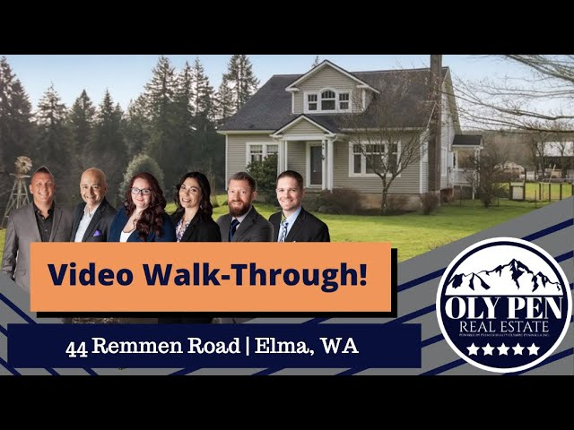 44 Remmen Road | Video Walk-Through | Farmhouse On Over 5 1/2 Acres