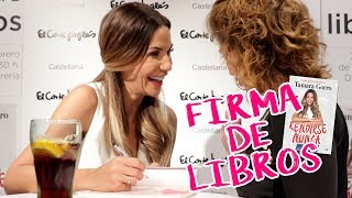 Firma De Libros En Madrid | Rendirse Nunca