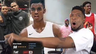 #1 RANKED FRESHMAN EMONI BATES MIXTAPE + DROPS 43 ON BRONNY'S TEAM