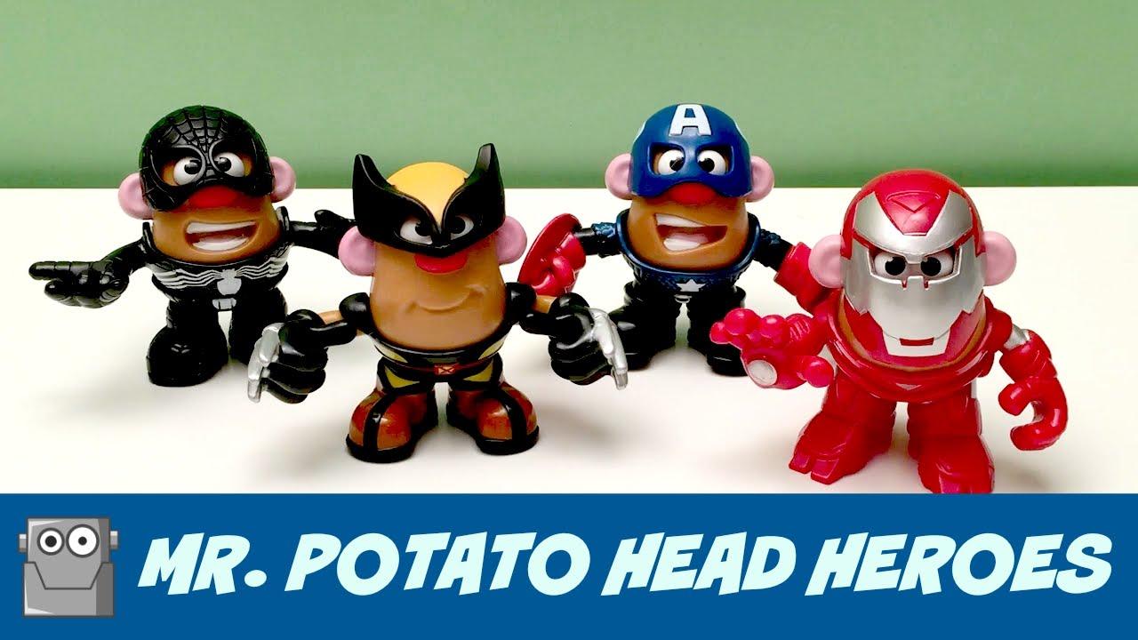 Mr Potato Head Super Heroes Marvel Youtube