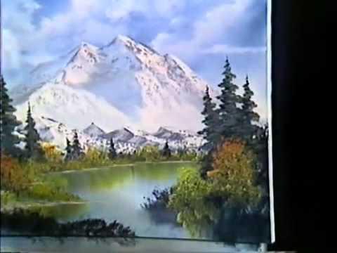Bob Ross Malerei Purpur Kiefer Malerei Video Youtube