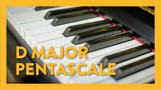 D Major Pentascale - Piano Lesson 14 - Hoffman Academy