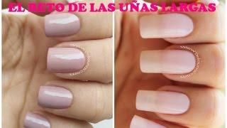El reto de las uñas largas - Long nails challenge