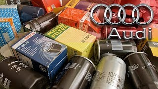 Filtr oleju do Audi - Fram, Bosch, Muller filter, Champion, Hengst, Mahle, Mann #1