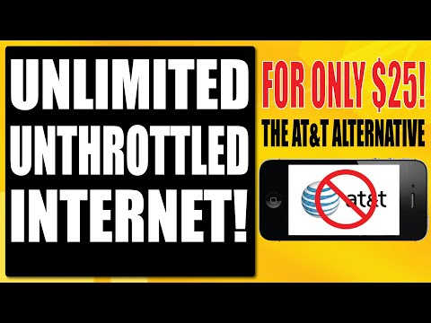 UNLIMITED UNTHROTTLED INTERNET FOR ONLY $25 A MONTH?