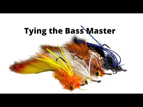 Fly Tying The Bass Master - Fly Fishing For Smallmouth Or Largemouth Bass