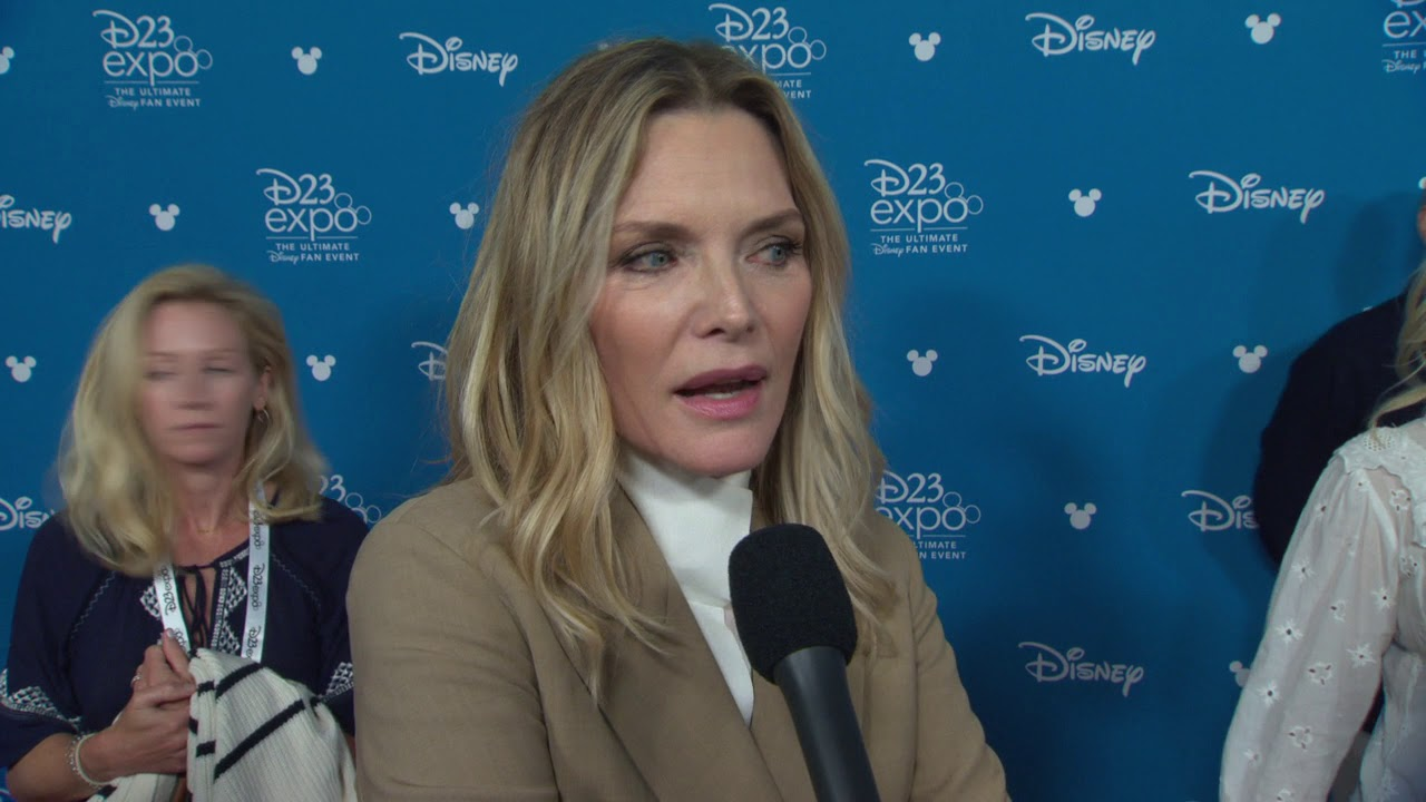 Maleficent Mistress Of Evil Michelle Pfeiffer D23 Official Movie Interview