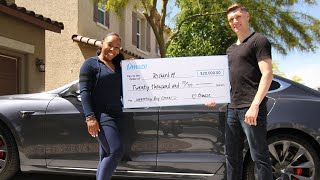 This Omaze Winner Won a Tesla Model S P100D for $50 // Omaze