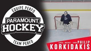 [HD] Team Perfo Paramount Hockey : Philip Korkidakis 2000 Goalie-Gardien