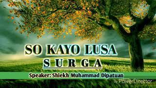 MUHADARA ISLAMIYA BY Shiekh Mohammad Dipatuan