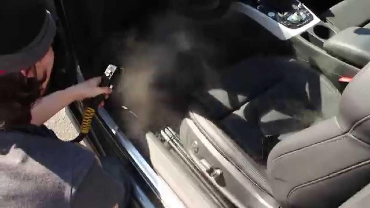 Car interior detailing - Car Interior Steam Clean Waxed Detailing Services Ottawa Car Detailing