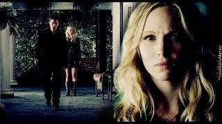 "● klaus + caroline | ""why didn"