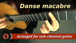 """Camille Saint-Saëns - """"Danse macabre,"""" op. 40 - Guitar Transcription thumbnail"""
