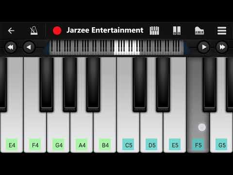 Ed Sheeran - Perfect - Easy Mobile Piano Tutorial | Jarzee Entertainment