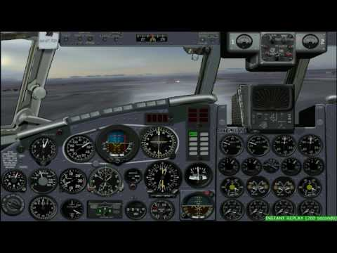 FS2004 | IL-18 approach and landing
