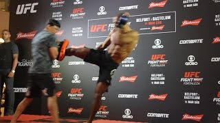 Edson Barboza UFC Fight Night 106 Open Workout