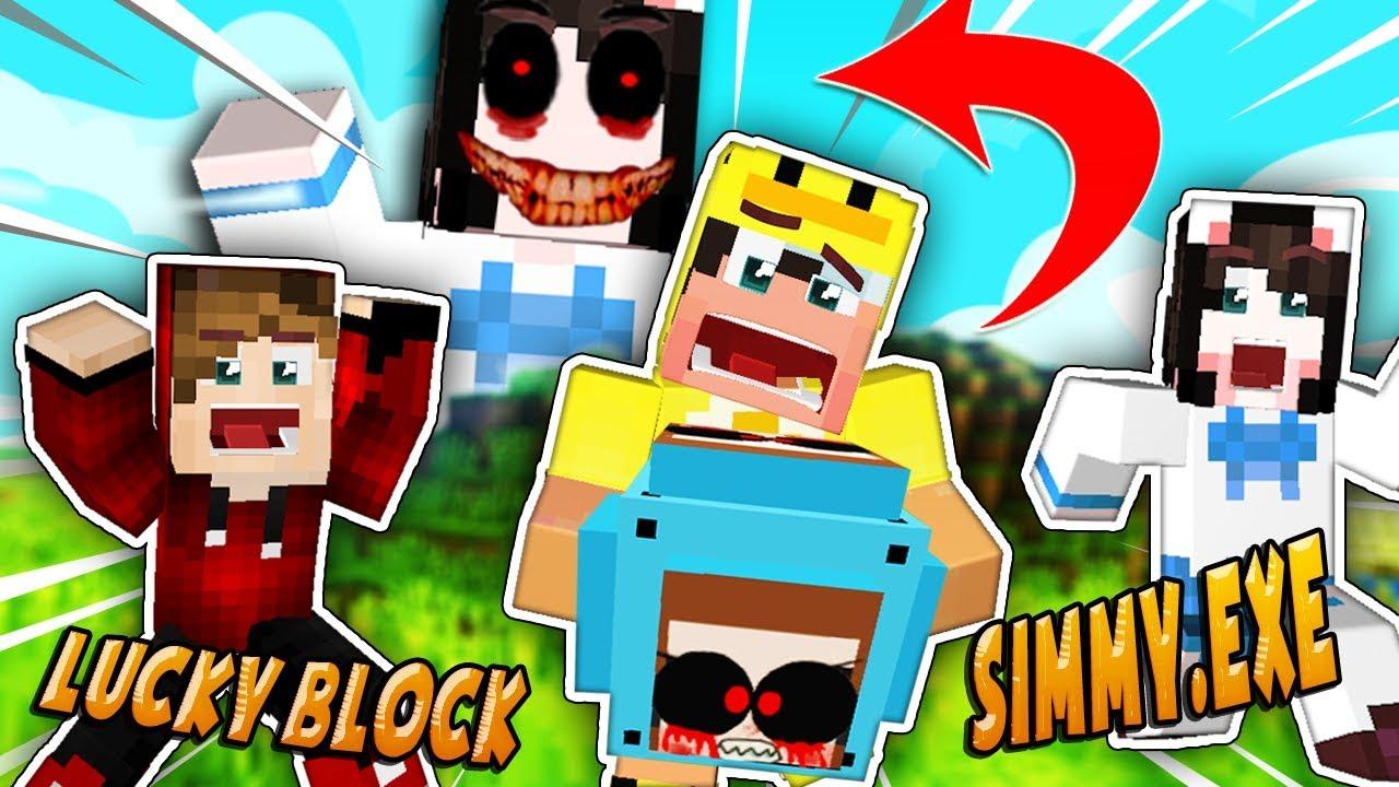 Jeff The Killerexe Roblox - Thử Thách 24 Giờ đập Lucky Block Simmyexe Khổng Lồ