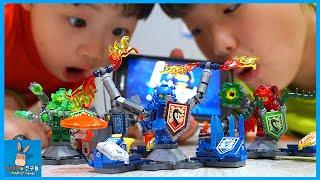 레고 넥소나이츠 얼티밋 퀄리티 대박! 게임으로 넥소파워 헌팅하다 ♡ 레고 조립 챌린지 LEGO NEXO KNIGHTS Power Toy | 말이야와친구들 MariAndFriends
