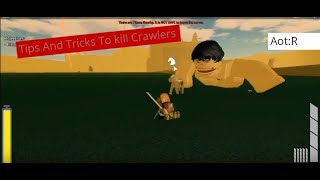 How to kill Crawlers AOT Revenge [Roblox]