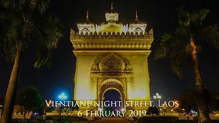 No.-46: Vientiane night street, Laos 6-2-2019[iPotfolio]