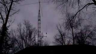 K40 mobile cb antenna cut for 2 meter
