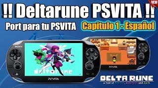 DeltaRune en PSVITA Homebrew PORT   Capitulo 1