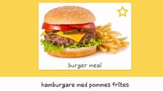 100 Most Common Words in spoken Swedish - Swedish Vocabulary - Eating out